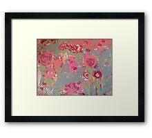 French Peony  Framed Print