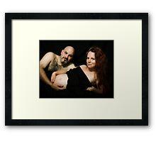 The Face of Family Framed Print