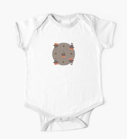 Pumpkaboo Pattern One Piece - Short Sleeve