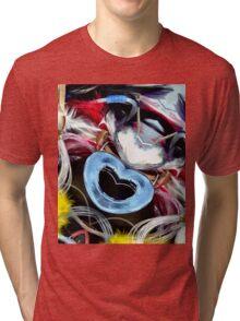 I Love Fishing Tri-blend T-Shirt