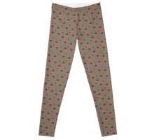 Pumpkaboo Pattern Leggings