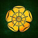 Gold Rose by Digital Phoenix Design