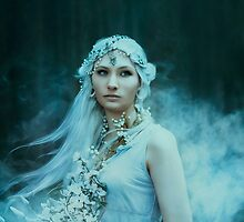 Mystic fantasy girl by Liancary