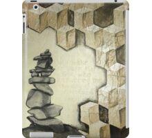 A Cairn - memorial stones iPad Case/Skin