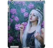 fantasy flower girl iPad Case/Skin
