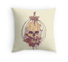 Poppy Chain Throw Pillow