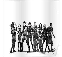 Dragon Age 2: Lineup Poster