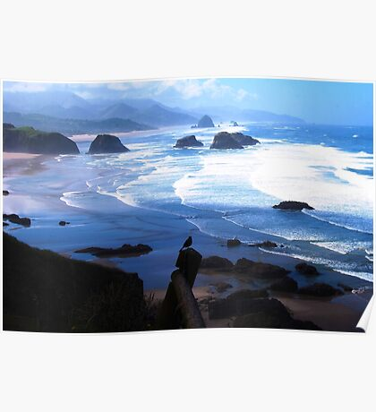 View from Ecola Poster