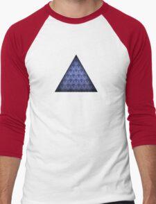 Haunted Mansion Wallpaper Men's Baseball ¾ T-Shirt