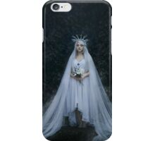Dark fantasy woman iPhone Case/Skin