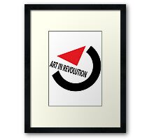 Art In Revolution Framed Print