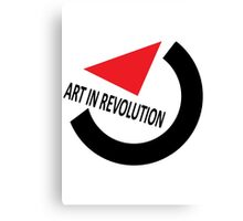 Art In Revolution Canvas Print