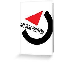 Art In Revolution Greeting Card