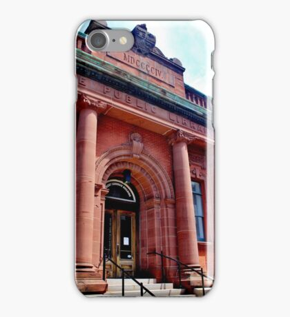 The Carengie Building iPhone Case/Skin