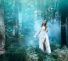 Mystic forest fairy by Liancary