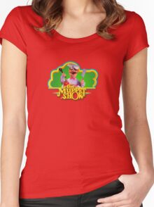 Chef Muppets Women's Fitted Scoop T-Shirt