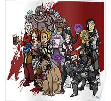 Dragon Age Origins: Lineup Poster