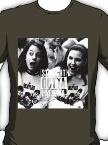 The Beatles ~ 'Straight Outta' Liverpool Tee  T-Shirt