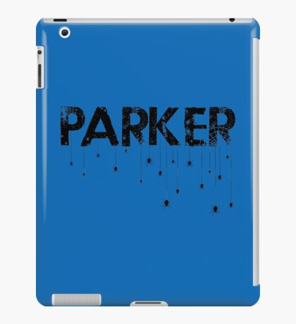 Parker Spider - Black iPad Case/Skin