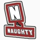 N 4 naughty - sticker by vampvamp
