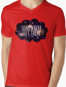 Somewhere Out There Mens V-Neck T-Shirt