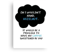TFIOS - Coffee Canvas Print