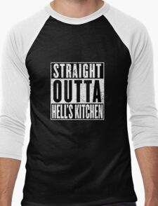 Straight Outta Hell's Kitchen Men's Baseball ¾ T-Shirt