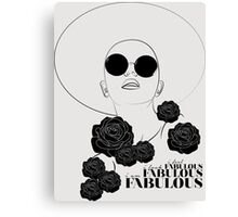 You Are Fabulous Canvas Print