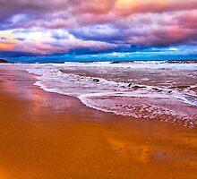 Jan Juc Sunset by Danka Dear