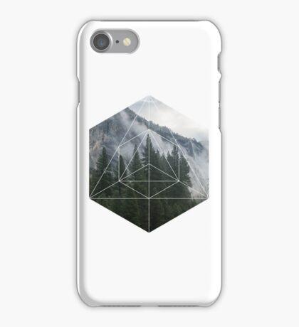 Geometric Forest iPhone Case/Skin