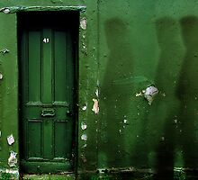 Green Door Ghost by Mark Malinowski