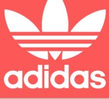 Adidas - Grey Red Blue  Sticker