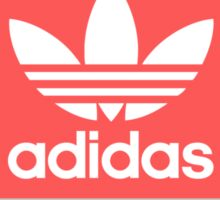 Adidas - Grey Red Blue  Sticker