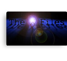The X Files- In Space Canvas Print