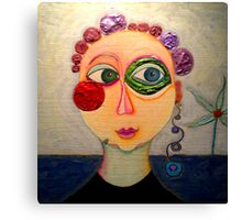 "NICE- TRILOGY ""WOMEN"" Canvas Print"