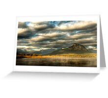 Lake Moogerah - Early Morning Mist Greeting Card