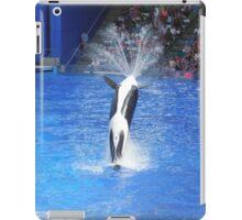 Orca flip iPad Case/Skin