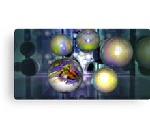 THE FRACTAL BALL Canvas Print