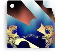 Mirror, Mirror! Digital version. Canvas Print