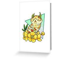 Magical Hognose (Albino) Greeting Card