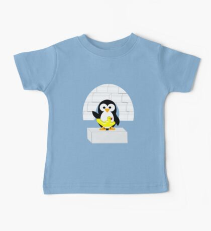 Penguin in Alaska Baby Tee