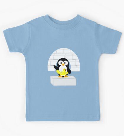 Penguin in Alaska Kids Tee