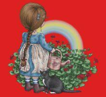 rainbows end Kids Tee