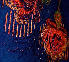 Fabric Abstract by Julie Marks