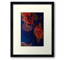 Fabric Abstract Framed Print