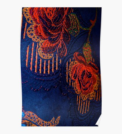 Fabric Abstract Poster