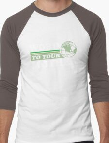 Word To Your Mother - Mother Earth Men's Baseball ¾ T-Shirt