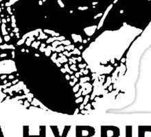 oil burning jeep hybrid Sticker