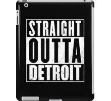 Straight Outta Detroit iPad Case/Skin