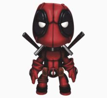 Little chibi deadpool marvel by kaikirito